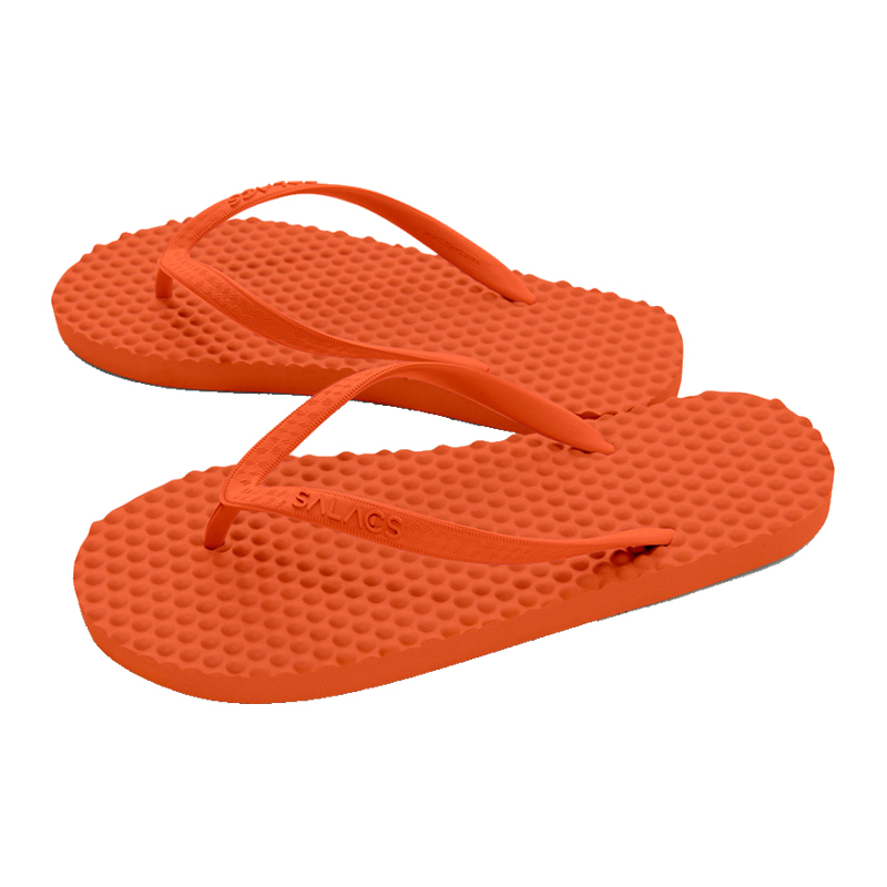 サラクス|SALACS BASIC BEACH SANDALE FOR WOMEN ( ORANGE ) S 23-23.5cm