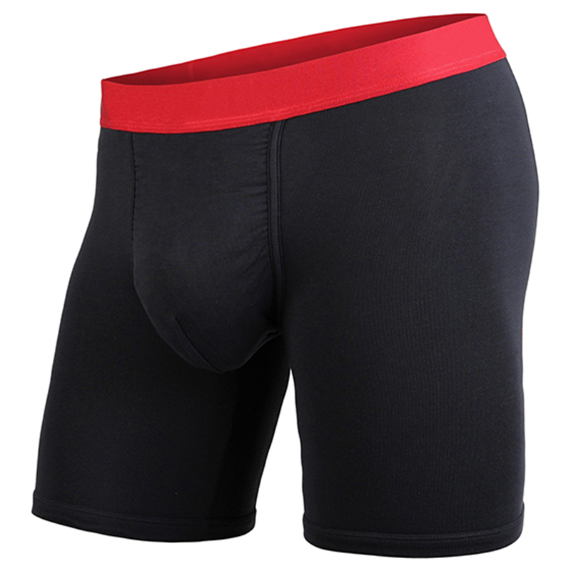 マイパッケージ|CLASSIC LITE BOXER BRIEF SOLID ( BLACK/RED ) S( 28インチ~30インチ )