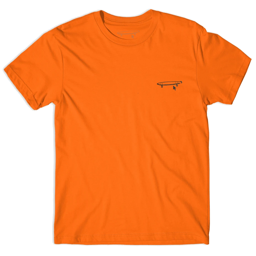 クレイルタップ|EMBROIDE TEE ORANGE ( L )