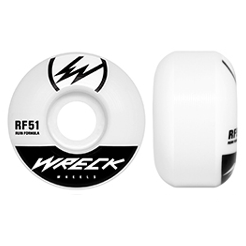 レック ウィール|W1 ORIGINAL CUT WHITE 51mm 83B