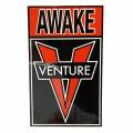 ベンチャー/OG AWAKE STICKER(BLACK/RED)
