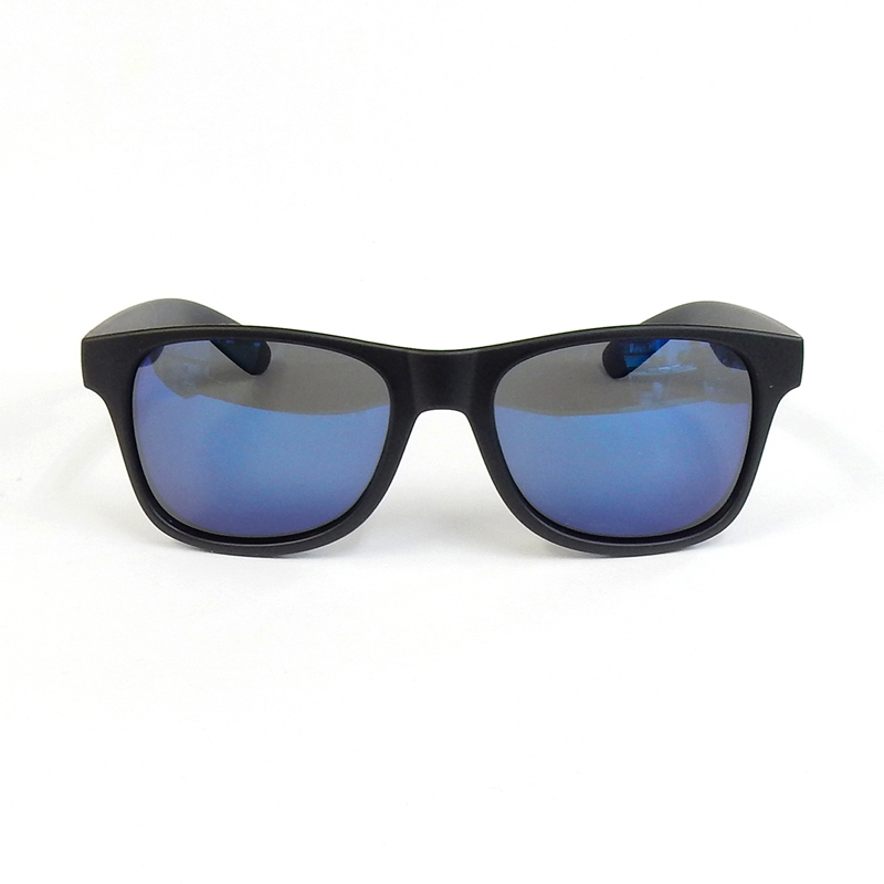 ダン シェイディーズ|LOCO Black Matte X Blue Mirror Polarized with HANG LOOSE [DANGSHADES 10th Anv Model]