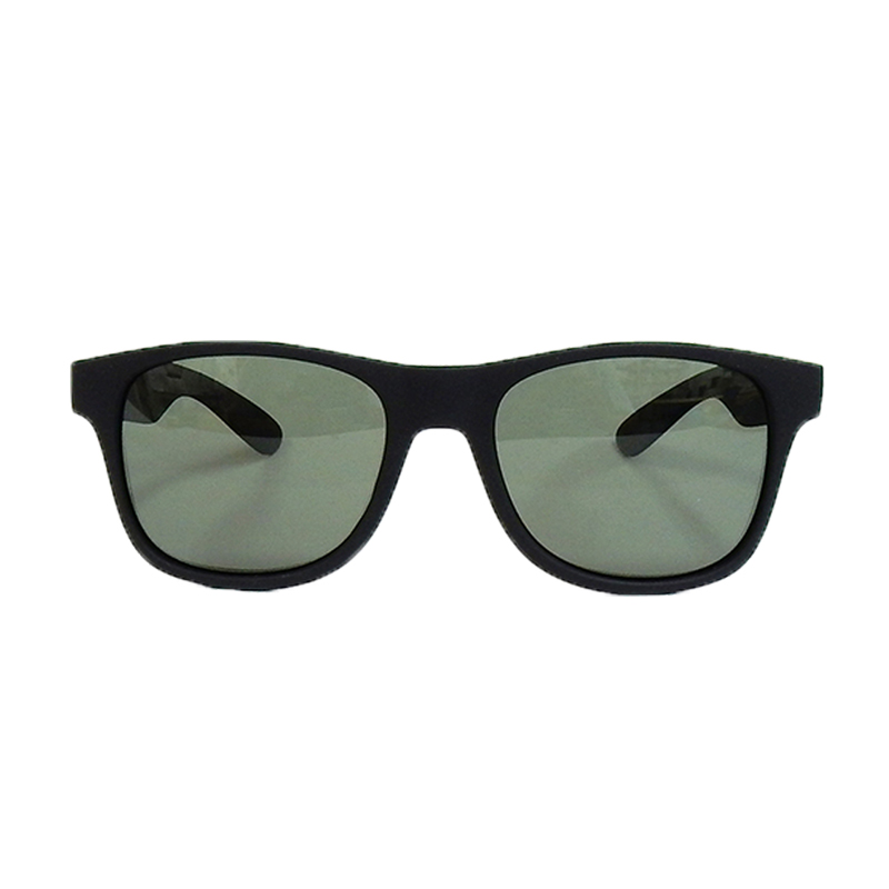 ダン シェイディーズ|LOCO Black Soft x Dark Green Gray Polarized